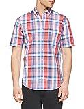 Brax Herren Freizeithemd Style.Drake 48-3477, (Rot 45), 42 (Herstellergröße: L)