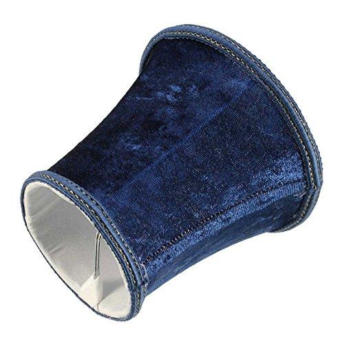 Bluelover Decoración De Dormitorio De Pelusa Pantalla Colgante Pared Lámpara Luz Colgante Vintage Europea Estilo Home-Azul Oscuro