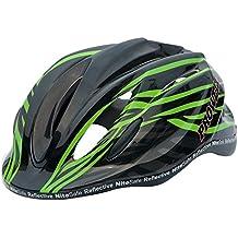 Prowell Helmets K800 Casque de vélo pour enfant Vert Noir Small - (52cm-58cm)