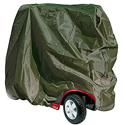 HANSHI Waterproof Mobility Scooter Storage cover, Wheelchair Protector Cover from Dust Dirt Snow Rain Sun Rays - 57x 27x 55 inch (L x W x H) HZC1521