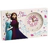 Wecker Disney Frozen Elsa und Anna aus Holz/MDF cm. 20x 12x 2–wd92063
