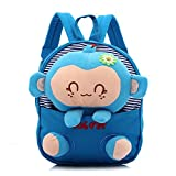 YYF Kids Backpack Baby Boys Girls Plush Backpack with Detachable Toy