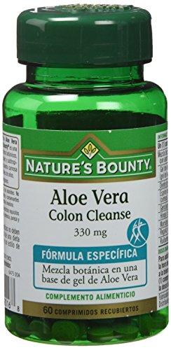 Nature's Bounty Aloe Vera Colon Cleanse 330 Mg - 60 Comprimidos