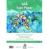 Yupo Peinture Lot de 10 feuilles de Papier A4 296 x 210 mm Papier 110 g/m²