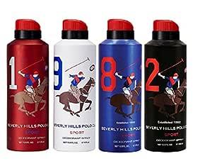 Beverly Hills Polo Club Beverly Hills Polo Club Mens Deodorant Pack Of 4-175ml, 175 ml