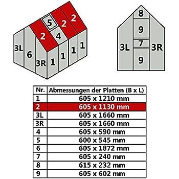 pergart gew chshaus venus 2500 alu 4 mm hohlkammerplatten garten. Black Bedroom Furniture Sets. Home Design Ideas