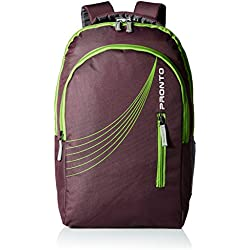 Pronto Xion 25 Ltrs Purple Casual Backpack (8801 - PP)