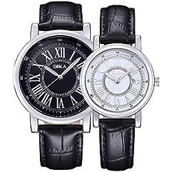 Couple watches/Fashion strap waterproof watch/ outdoor quartz watch-C