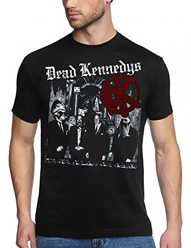 CID - DEAD KENNEDYS - Tour LOGO T-Shirt Schwarz/Black Schwarz