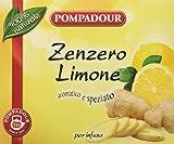 Pompadour Infuso di Zenzero e Limone - 1 Scatola