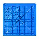 Tapis de silicone pour stylo d'impression 3D, Modèle de dessin avec Basic Multi-Shape Outils de dessin d'artisanat d'art, Accessoire de dessin 3D parfait pour les enfants adultes