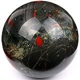 Boule Sphère en cristal poli 40mm naturel métaphysique de guérison Minéral Feng Shui Chakra Aura équilibre Pierre