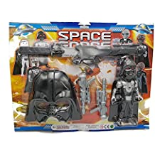 Star Wars Gli Ultimi Jedi Star Wars Luke Skywalker Han Solo Male Darth Vader Máscara Set 5piezas Espada Mitra personaggio Idea regalo Navidad juguetes niño