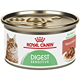 Royal Canin 24-Can Feline Health Nutrition Digest Sensitive Canned Cat Food, 3-Ounce Per Can thin slices in gravy by Royal Canin