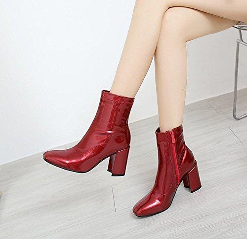 MissSaSa DONNA BOOTS AFFASCINANTE Rosso