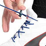 Red&Easy 3 Paar Elastische Schnürsenkel Mit Schnellschnürsystem Und Festem Halt, Ideal Für Sport, Kinder Und Senioren (Blau)