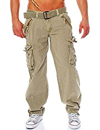 Geographical Norway Herren Cargo-Hose Stoffhose Pasteur Pant