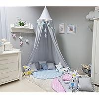 Baldachin kinderzimmer selber machen  Baby Betthimmel und Himmelstangen | Amazon.de