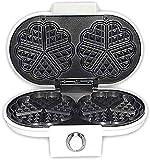 Muffin Maker tostapane, Panini Press Grill, Donut Donut Ferro da stiro macchina, piatti fondi non rivestimento antiaderente, facile da usare RVTYR