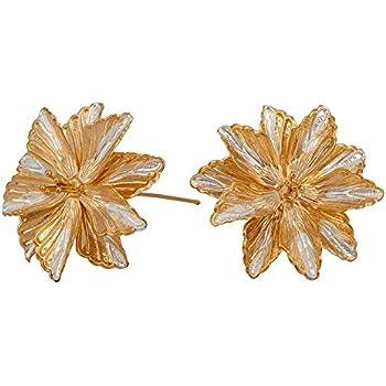 Buy Siri Creations Silver Asthothram Gold Polised Flowers 108 Pcs