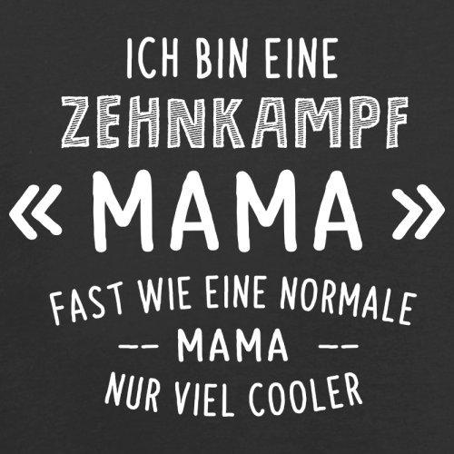 Ich bin eine Zehnkampf Mama - Herren T-Shirt - 13 Farben Schwarz