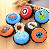 #10: Grab Offers New Cute Cartoon Style Printed Coin case Girl's Women's Kids Adorable Multipurpose Purse! (Random Design) (2 Pcs)