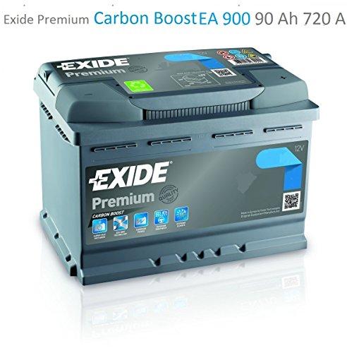 Exide Premium Carbon Boost EA900 90Ah
