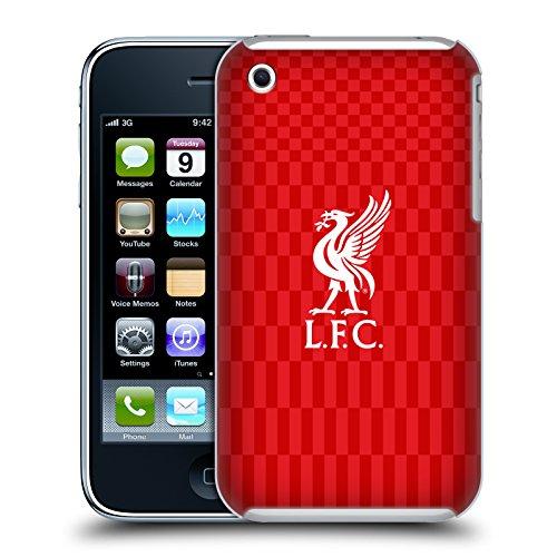 Offizielle Liverpool Football Club Kit Weiss Und Rot Liver Bird Ruckseite Hülle für iPhone 3G / iPhone 3GS -