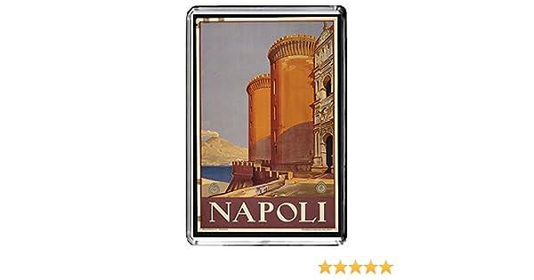 A171 NAPOLI AIMANT POUR LE FRIGO ITALY TRAVEL VINTAGE REFRIGERATOR MAGNET