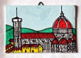 Santa Maria del Fiore-Dipinto su cartoncino telato,tecnica ad acrilico,dimensioni cm 15x10x0,3 cm,pronto per essere appeso al muro.Made in Italy,Toscana,Lucca.Creato da Davide Pacini.