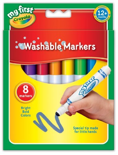 My First Crayola - Feutres Crayola - 81-8109 - Multicolores - version anglaise