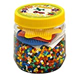 Hama Beads 4, 000 Beads and Pegboard Tub