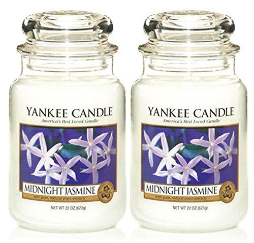 2er-Set Duftkerzen Yankee Candle, in großen Gläsern, Düfte: My Serenity, Angel ()
