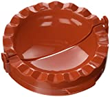 Pizza Craft Small Calzone Press -  Red
