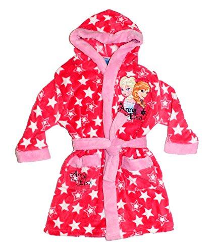Disney - Albornoz - para niña rosa 4 años