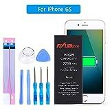 FLYLINKTECH Akku für iPhone 6s 2200mAh, Ersatz austausch hohe Kapazität mit 29% mehr Batterien Li-Ionen Nachfüllbare mit Werkzeug Set, Klebeband, Einführung enthalten 1 Jahr Garantie