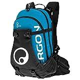 Ergon BA3 Enduro Fahrrad Rucksack MTB All Mountain Bike Anatomisch Verstellbar, 4500086, Farbe Blau