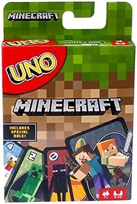 UNO Minecraft jeu de société et de cartes, FPD61