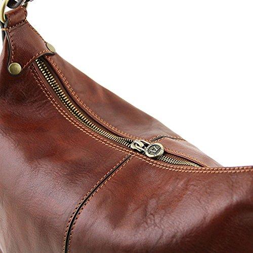 Tuscany Leather Sabrina - Sac boule en cuir - TL141479 (Noir) Marron
