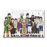 Zcbm Bild Auf Leinwand HD Drucke 1 Stücke Leinwandbild Gemälde Uzumaki Naruto Uchiha Sasuke Uchiha Itachi Anime Poster Wandkunst Rahmenbilder Wohnzimmer Leinwandbilder Kein Rahmen,E,40x60cm