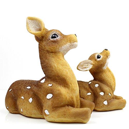 American idillio rurale di cervi sika creative home decor artigianato studio computer desk small ornamenti con doni , la madre e la Formosan cervi sika ( ) per
