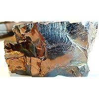Boviswert EDEL SCHUNGIT, seltene große Brocken, 111,80g, 7x4x4cm, schön und kraftvoll, aus Karelien, mit Zertifikat! preisvergleich bei billige-tabletten.eu