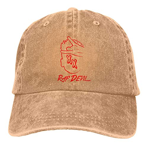 Basecap Snapback Outdoor Baseball Kappe Jeans Hat Red Rap Devil XX Lightweight Breathable Soft Baseball Cap Sports Cap Adult Trucker Hat Mesh Cap -