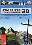 Zugspitze und Wettersteingebirge 3D. Für Windows Vista / XP / 2000: Fotorealistische Wander- und Mountainbikekarte des Zugspitzgebiets in 3D für den PC. Tourenbeschreibungen - Hütten - Orte - Berggipfel - Seen und vieles mehr