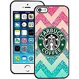 Classic Starbucks Phone Cover, Iphone 5 5s SE Funda Case Starbucks Logo , Hard PC Anti Slip Starbucks Phone Funda Case for Apple Iphone 5 5s