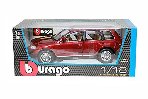 BBurago - 12002 - Voiture sans pile - Reproduction - Vw Touareg - échelle 1/18