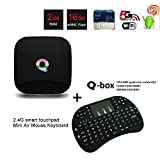 Q-Box 2G/16G Android 5.1 Smart Tv Box Amlogic S905 Cuatro...