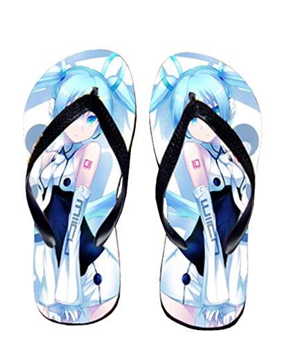 Bromeo Hatsune Miku Anime Unisexe Flip Flops Tongs 172