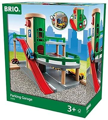 Brio 33204 - Parkhaus, Straßen und Schienen von BRIO GmbH