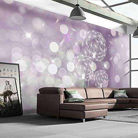 Fotomural 500x280 cm - 3 tres colores a elegir - Top - Papel tejido-no tejido. Fotomurales - Papel pintado - Abstracción Flores Diente de león